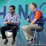 Sal Kahn and Elliott Masie
