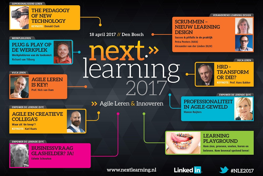 Vooraankondiging Next Learning 2017