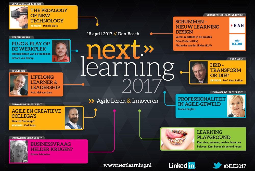 Vooraankondiging Next Learning 2017