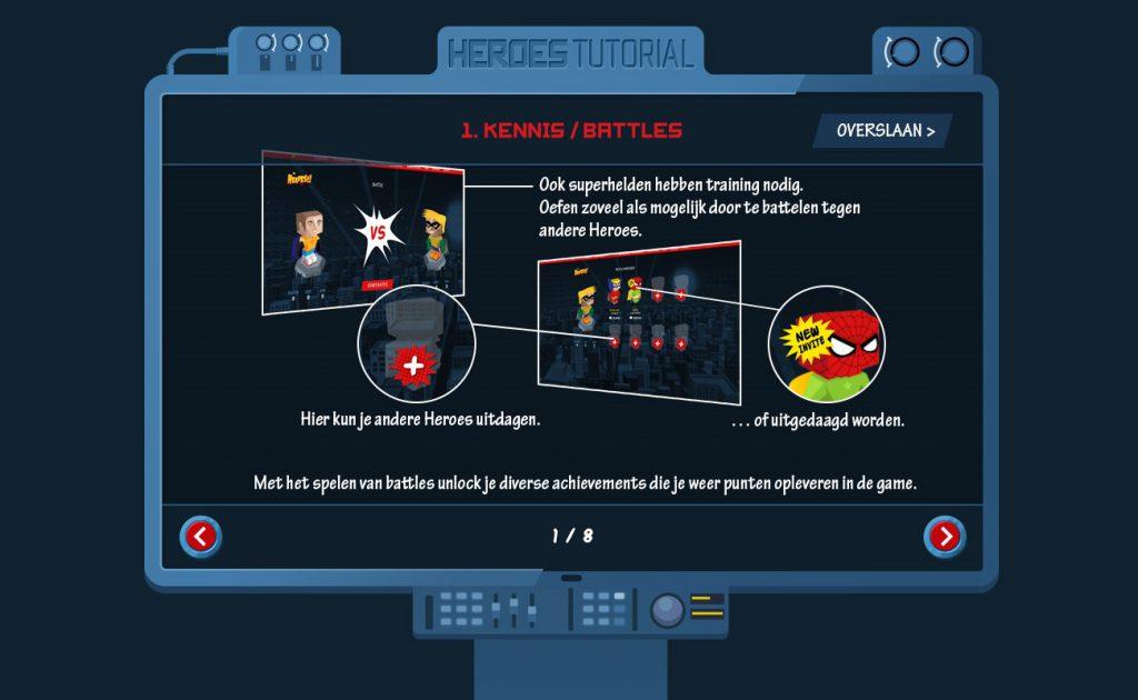 Kennis battles - Gamification