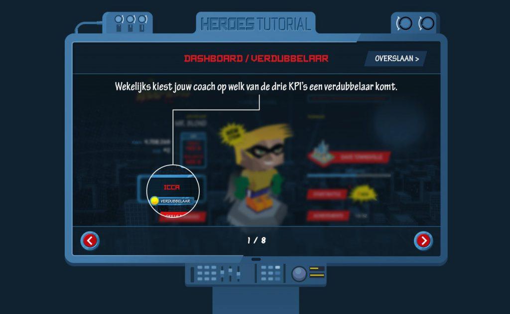 Persoonlijke game dashboard - Gamification