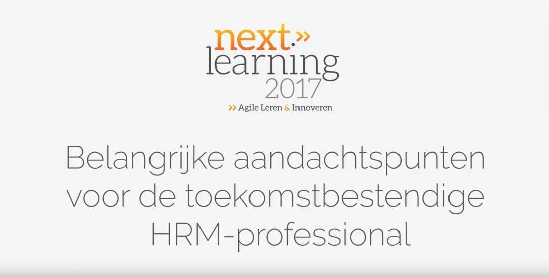 Aandachtspunten voor de toekomstbestendige HRM-professional