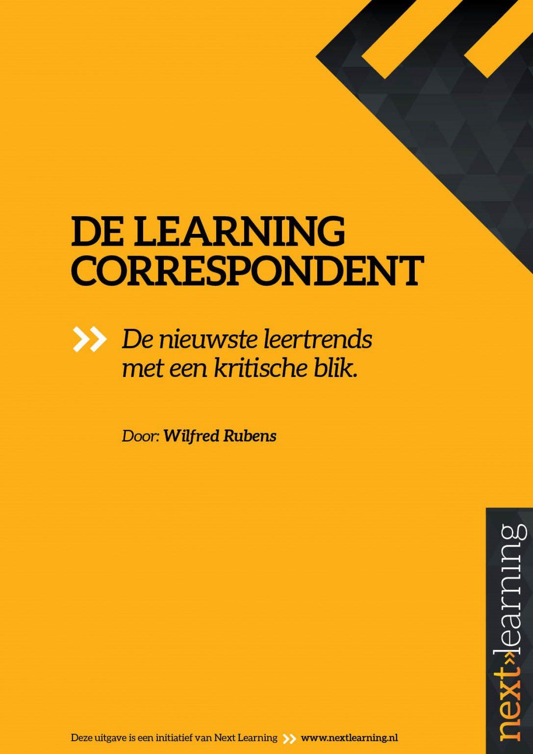 Beveiligd: De Learning Correspondent nr.20